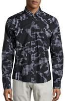 PRPS Vedda Camo Plaid Shirt