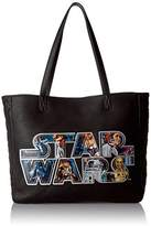 Loungefly Star Wars Applique Logo Tote