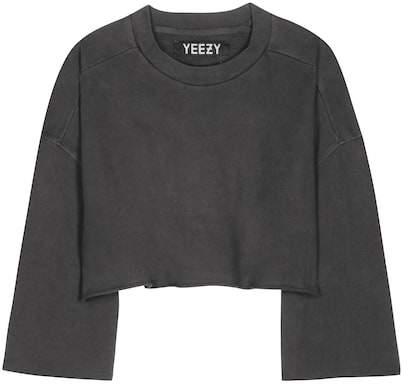 Yeezy Cropped cotton sweater (SEASON 1)