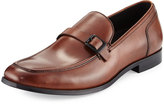 Kenneth Cole Let Loose Buckled Loafer, Cognac