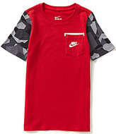 Nike Big Boys 8-20 Camouflage-Short-Sleeve Tee
