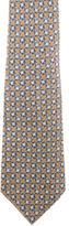 Gucci Ring Print Silk Tie