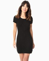 Charming charlie Cable Knit Sweater Dress