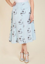 Purr Intentions Midi Skirt in L