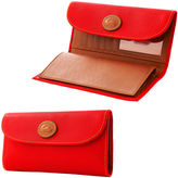 Dooney & Bourke All Weather Leather 2 Checkbook Clutch