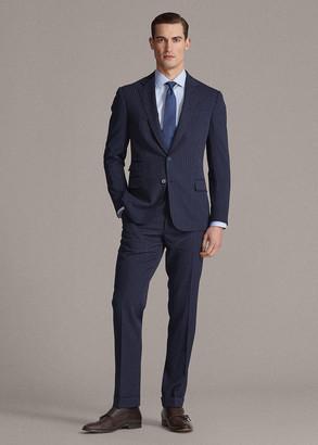 Ralph Lauren Kent Striped Gabardine Suit