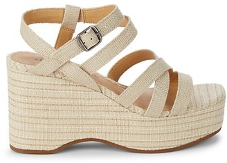 Lucky Brand Carlisha Strappy Wedge Sandals