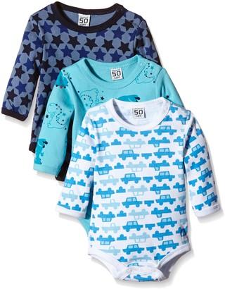 Care Baby Boys Bodysuits Longsleeved Pack of 3