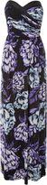 Jane Norman Floral Bandeau Maxi Dress