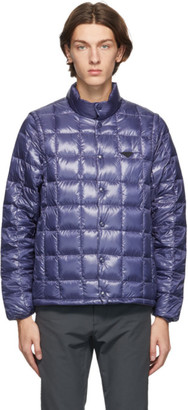 TAION Navy Down Heated High Neck EXTRA Jacket
