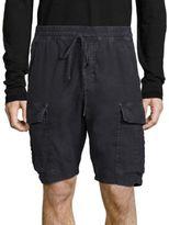 Vince Regular-Fit Washed Military Shorts