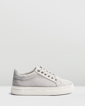 Topshop Clover Lace-Up Platform Sneakers