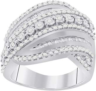 Affinity Diamond Jewelry Affinity 3/4 cttw Diamond Ring, Sterling