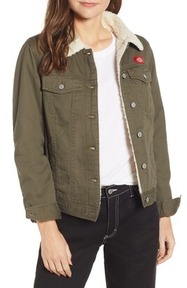 Dickies Fleece Lined Twill Jacket