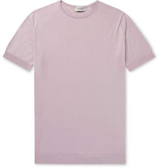 John Smedley Belden Slim-Fit Sea Island Cotton T-Shirt
