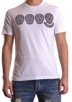 Hydrogen Men's White Cotton T-shirt.