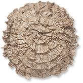 Ann Gish Seaflower Tigress Silk Pillow