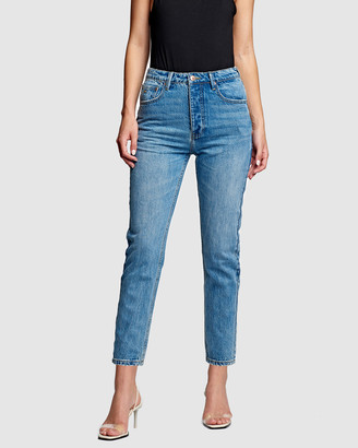 RES Denim Women's Blue Straight - Revenge Straight Jeans - Size One Size, 24 at The Iconic