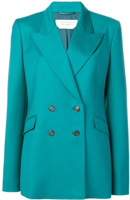 Gabriela Hearst classic double-breasted blazer