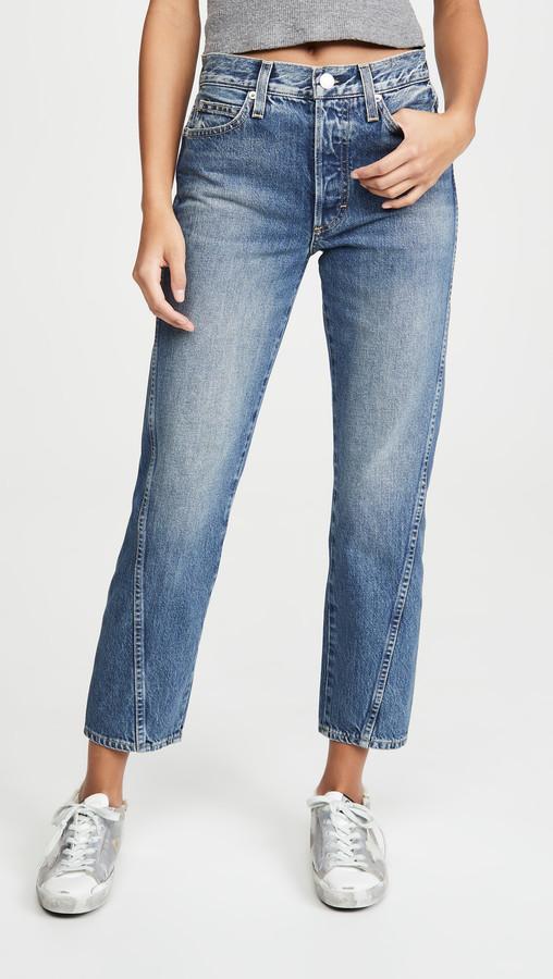 Loverboy Twist High Rise Twist Seam Jeans