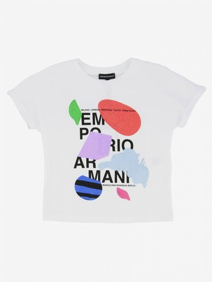 Emporio Armani T-shirt With Front Print