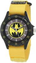 Batman Kids' BAT5040 Yellow Time Teacher Watch