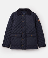 Joules Boys' Overcoats - Black Bridgeford Quilted Jacket - Toddler & Boys