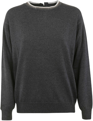 Brunello Cucinelli Back Keyhole Sweater
