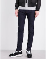 Ps By Paul Smith Light Blue Concealed Zip Jeans