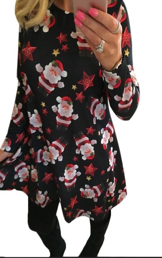 acfecc7276751 Long Sleeve Christmas Dress - ShopStyle Canada