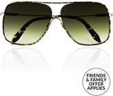Victoria Beckham Loop Navigator Capsule Sunglasses