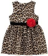 Kate Spade Girls' Leopard-Print Dress