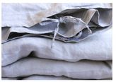 IN BED Linen Duvet Set - Dove Grey