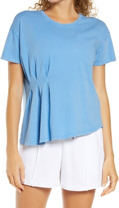 Zella Washed Pleated T-Shirt