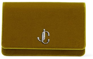 Jimmy Choo Velvet Palace Clutch Bag