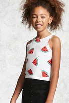 FOREVER 21 girls Girls Watermelon Top (Kids)