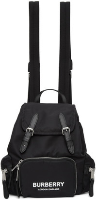 Burberry Black ECONYL The Small Rucksack Backpack