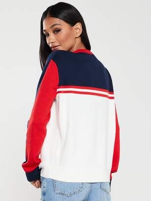 Tommy Jeans Colour Block Sweater - Multi