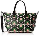 Orla Kiely Women's Zip Holdall Messenger Bag