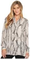 Ellen Tracy Boyfriend Shirt Women's Clothing