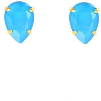 Rosaspina Firenze Azure Blue Drop Stud Earrings