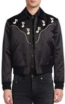 Saint Laurent Webster Satin Jacket