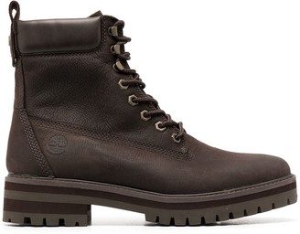 Timberland Padded-Ankle Boots
