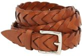 Etro 25mm Woven Leather Belt