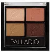 Palladio Eyeshadow Quad, Copper N Chic, 0.02 Ounce by