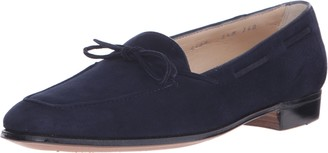 Gravati Women's Bowed Velukid Slip-On Loafer