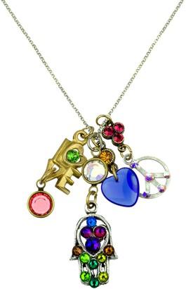 Anne Koplik Peace & Love Jumble Necklace