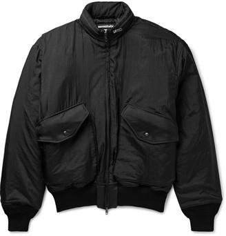 MONITALY Nylon-Taslan Blouson Jacket