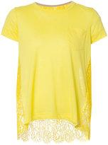 Sacai floral lace blouse - women - Cotton/Linen/Flax/Nylon/Rayon - 1
