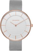 Skagen Women's Stainless Steel Mesh Bracelet Watch 38mm SKW2583